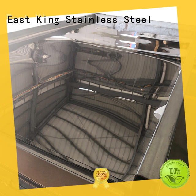 East King durable stainless steel plate wholesale for bridge