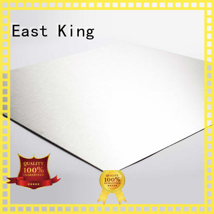 East King stainless steel sheet wholesale for bridge