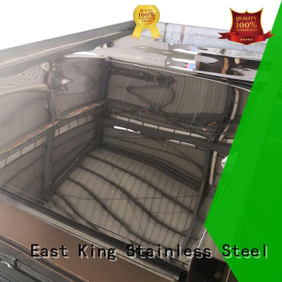 durable mirror stainless steel sheet supplier for bridge East King