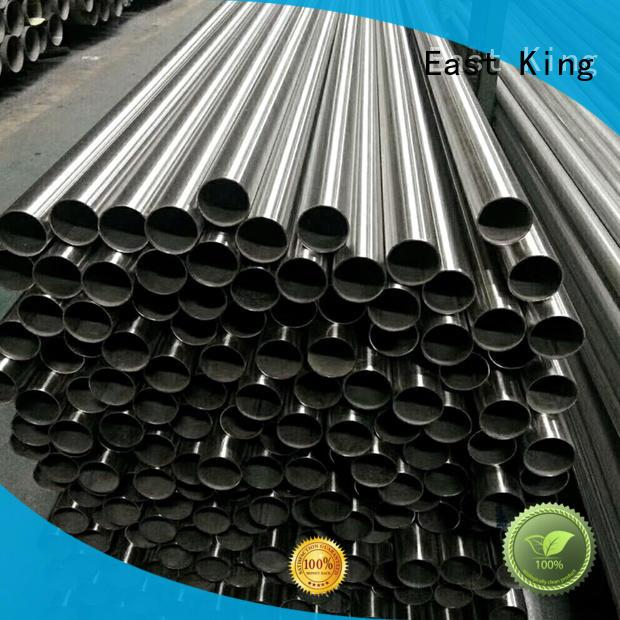 East King practical stainless steel tubing series for tableware