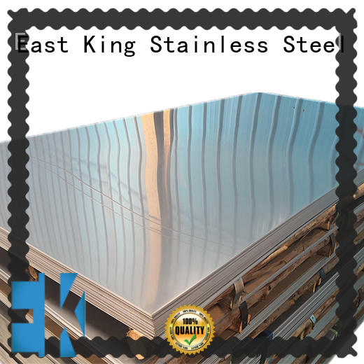 East King reliable stainless steel plate with good price for mechanical hardware