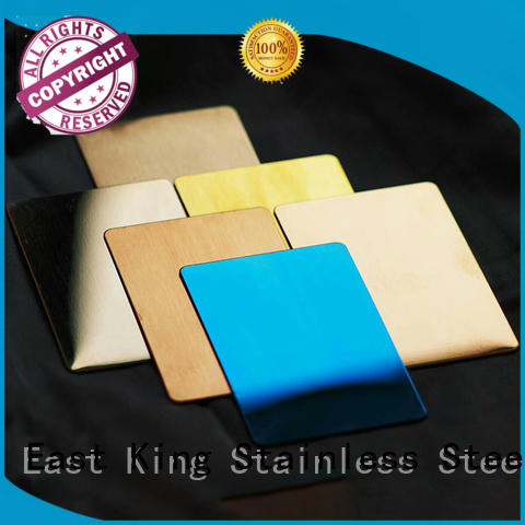East King stainless steel sheet with good price for mechanical hardware
