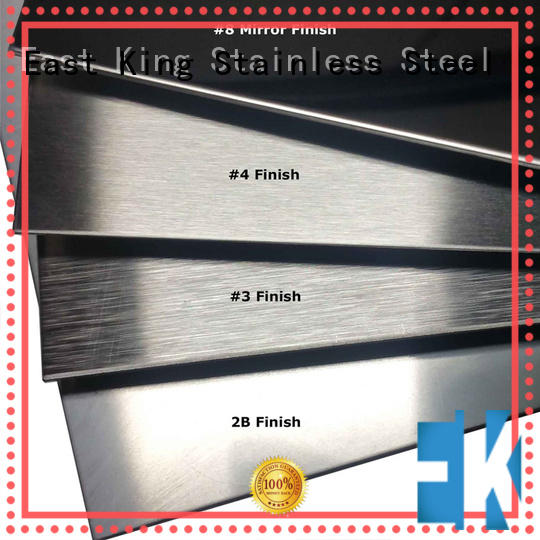 East King high strength 5mm stainless steel sheet for bridge