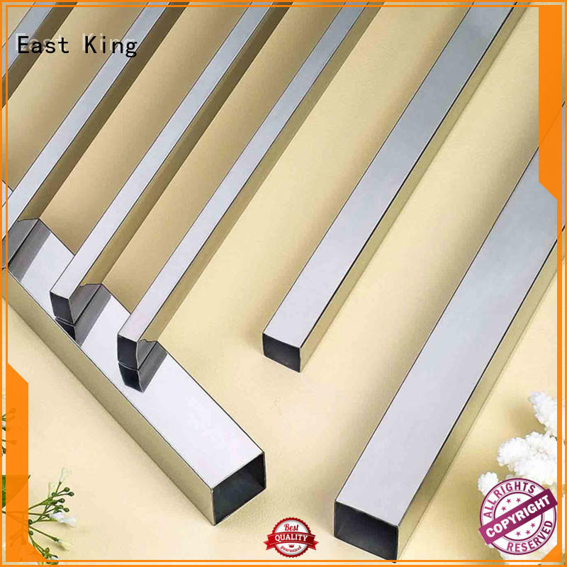 East King high quality stainless steel tube wholesale for tableware