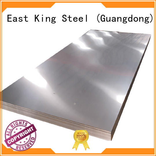 stainless steel sheet supplier for tableware East King