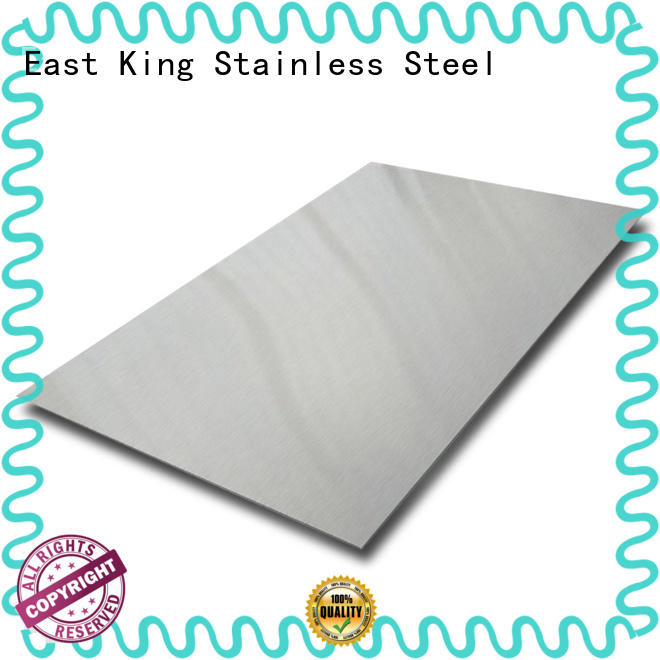 East King stainless steel plate supplier for mechanical hardware