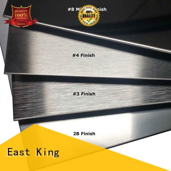 East King stainless steel sheet wholesale for mechanical hardware