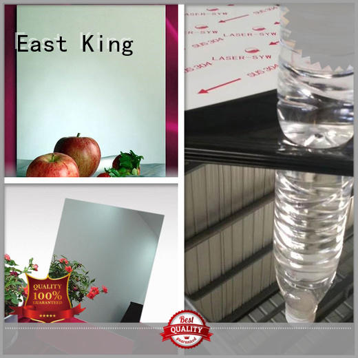 East King professional stainless steel sheet wholesale for tableware