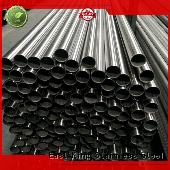 East King high quality stainless steel pipe series for mechanical hardware