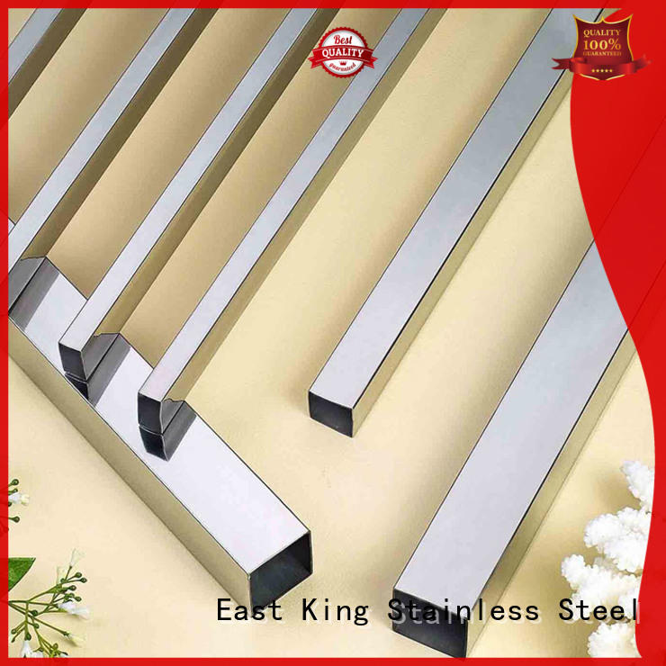 East King high quality stainless square tube for mechanical hardware