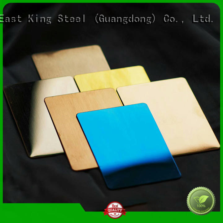 East King high strength stainless steel plate factory for tableware