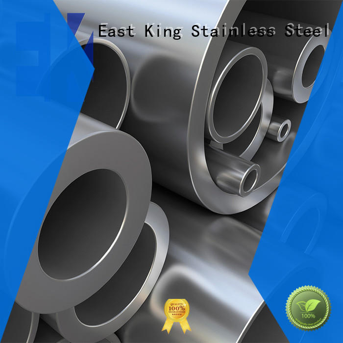 East King professional stainless steel pipe factory price for tableware